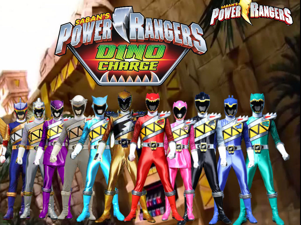 Power Rangers Dino Super Charge - Netflix