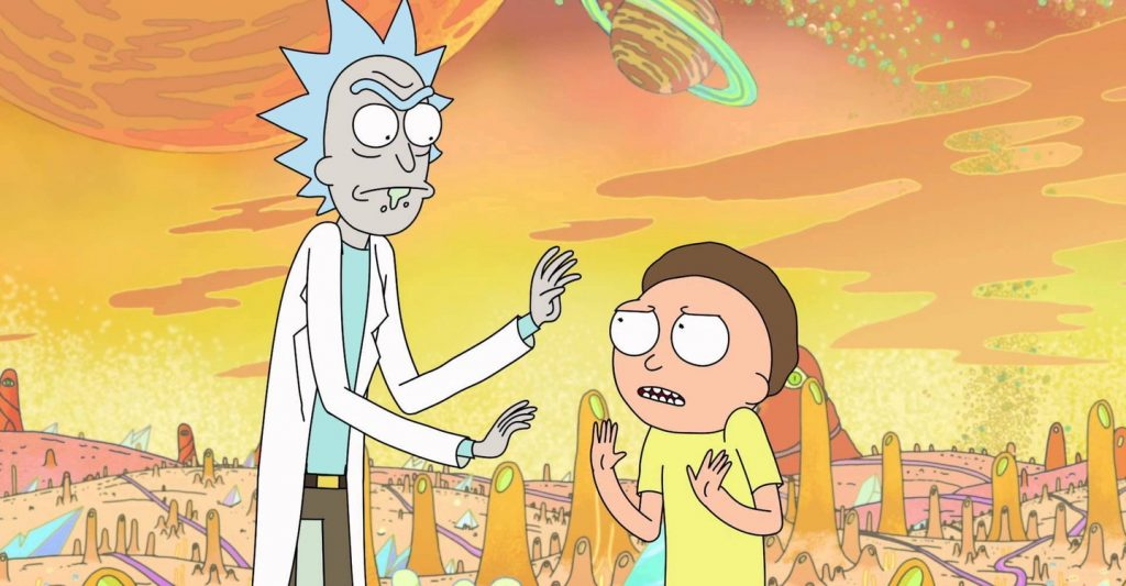 Ricky and Morty - Netflix
