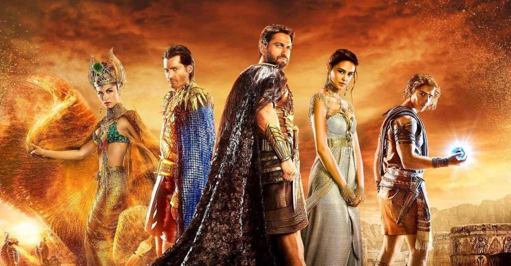 Deuses do Egito - Netflix
