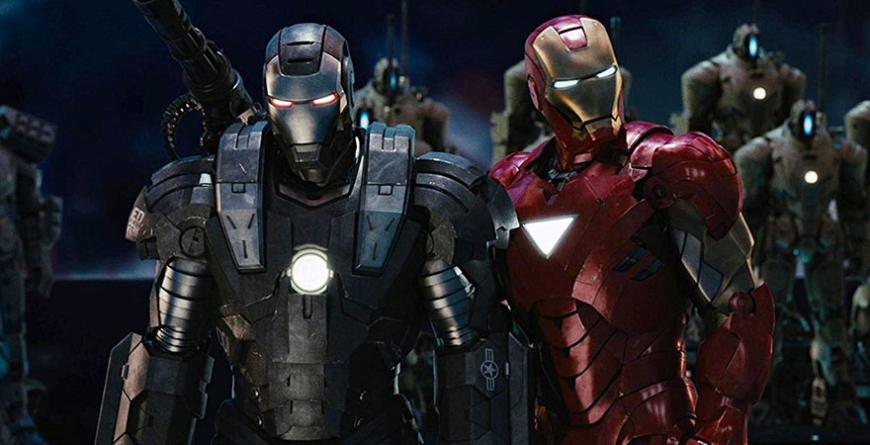 Homem de Ferro 2 - Netflix
