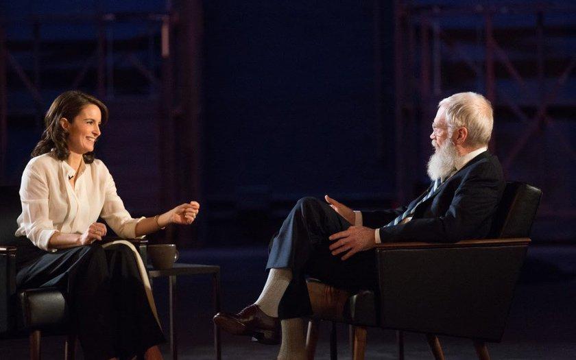 O Próximo Convidado Dispensa Apresentações com David Letterman: Tina Fey
