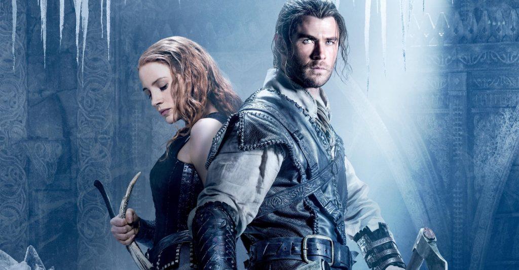 O caçador e a Rainha de Gelo - Netflix