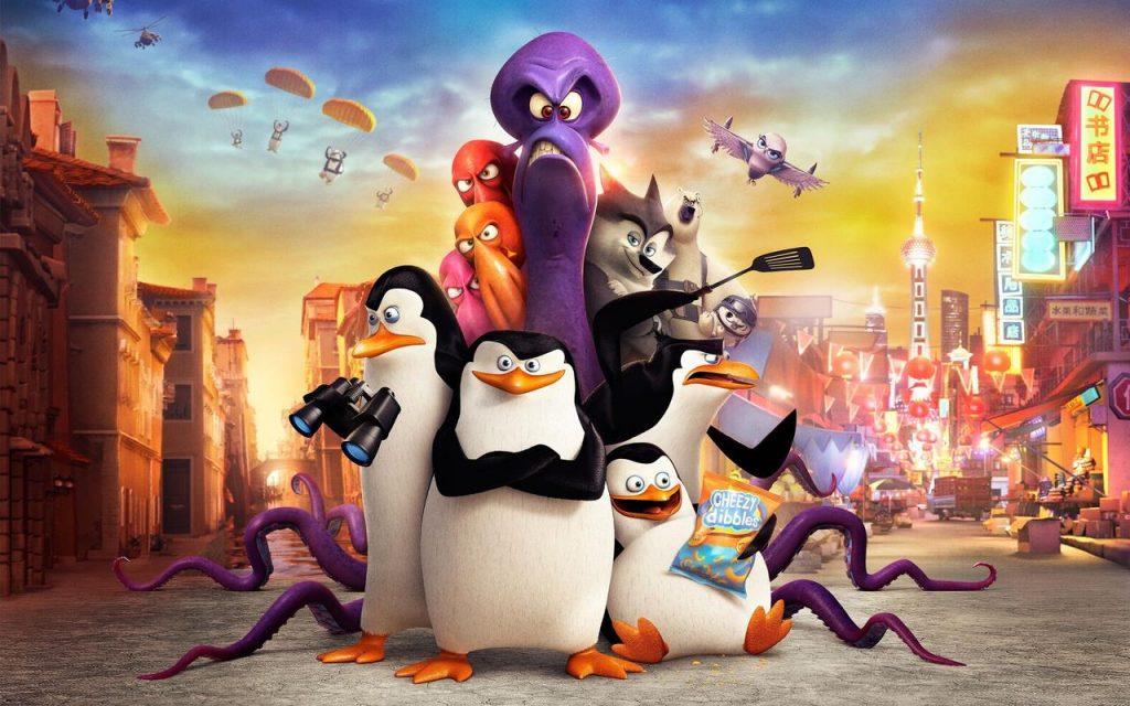 Os pinguins de Madagascar - Netflix