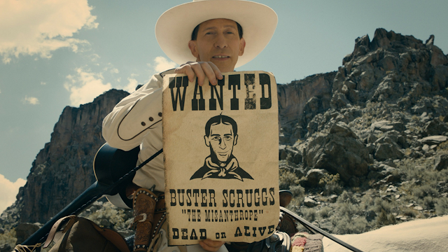 The Ballad of Buster Scruggs - Netflix