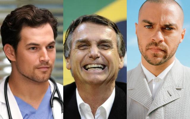 Atores de Grey's Anatomy fazem campanha contra Jair Bolsonaro