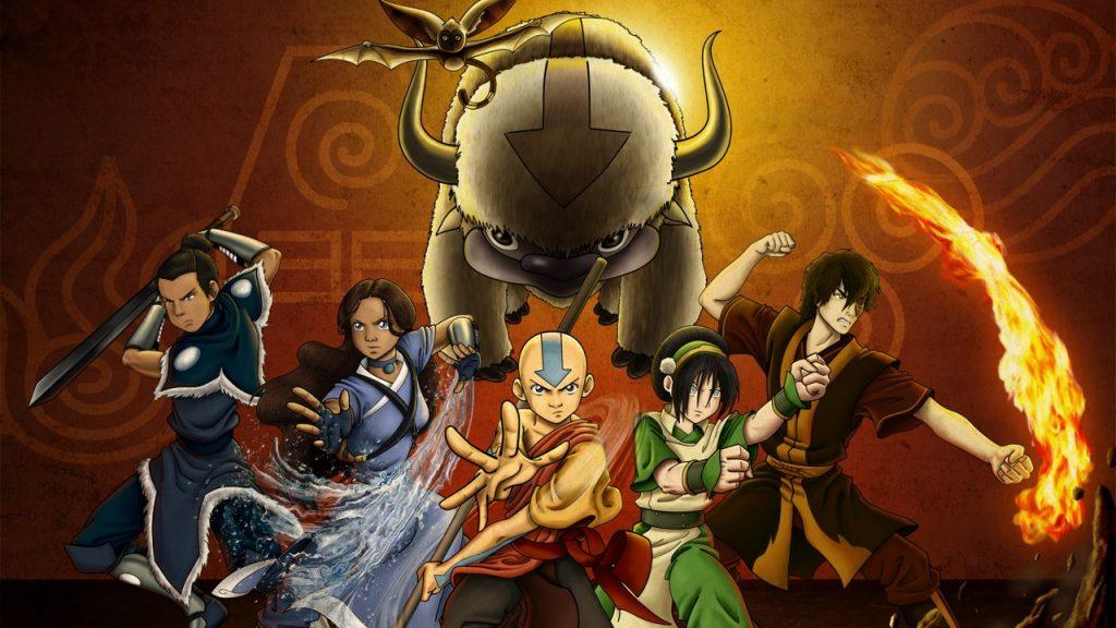 Avatar: A Lenda de Aang na Netflix