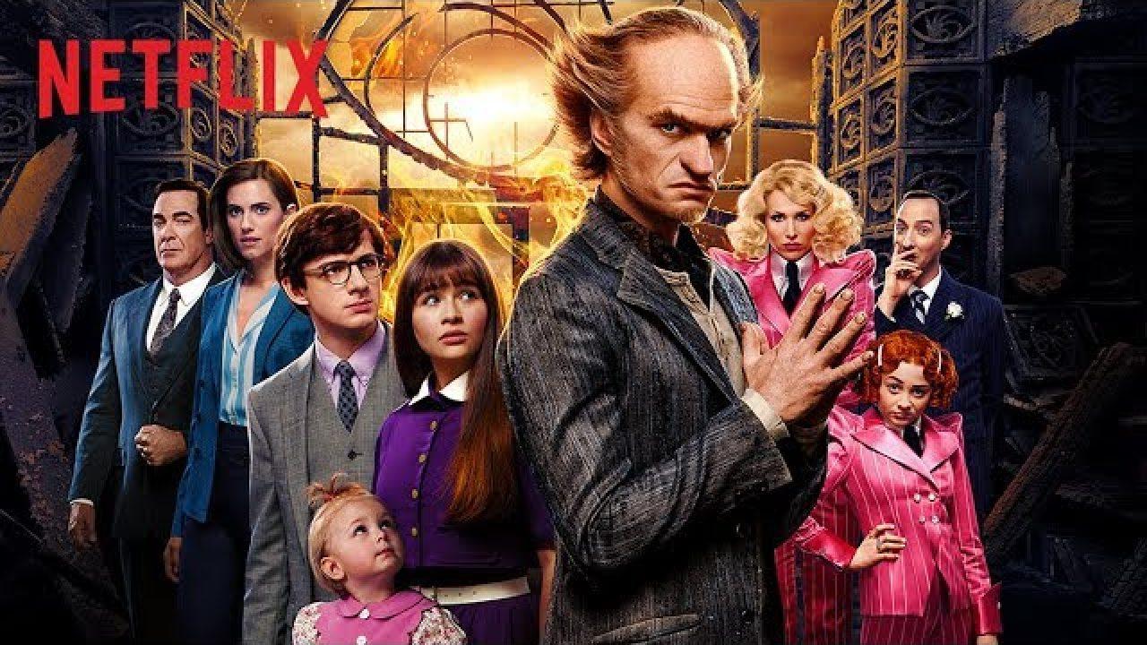 Desventuras em série   4° temporada na Netflix
